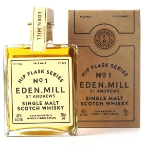 Eden Mill Single Malt Hip Flask Series No.1 20cl / French Virgin Octave