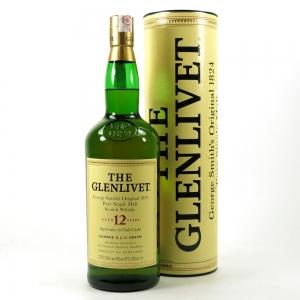 Glenlivet 12 Year Old 1 Litre 1990s