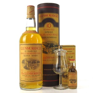 Glenmorangie 10 Year Old 1 Litre / with Miniature 5cl & Tasting Glass