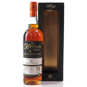Arran 2001 Private Cask 13 Year Old / Glasgow's Whisky Club
