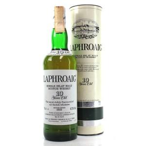 Laphroaig 10 Year Old 1980s / Cinzano Import