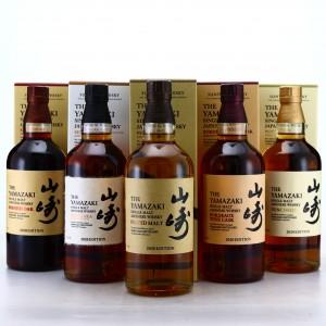 Yamazaki 2020 Editions 5 x 70cl