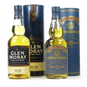 Glen Moray 12 Year Old And Single Malt 2 x 70cl