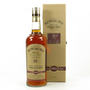Bowmore 1991 Port Cask 16 Year Old