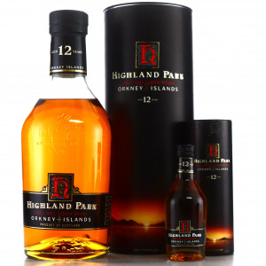 Highland Park 12 Year Old 1990s / with Miniature 5cl