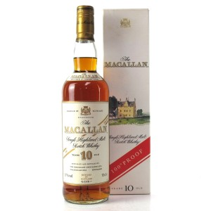 Macallan 10 Year Old 100 Proof / Japanese Import