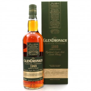 Glendronach 1993 Master Vintage 25 Year Old