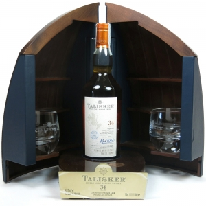 Talisker 34 Year Old Single Cask / Boat Cabinet