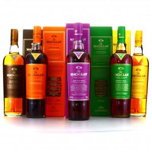 Macallan Edition No.1-5 Collection x 5