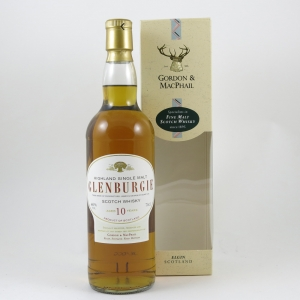 Glenburgie 10 Year Old Gordon and Macphail front