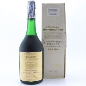 Frapin Chateau Fontpinot Grande Champagne Cognac 1970s