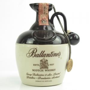 Ballantine's Blended Scotch Whisky Decanter 1980s