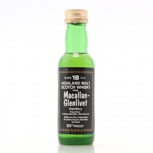 Macallan 18 Year Old Cadenhead's Miniature 1970s