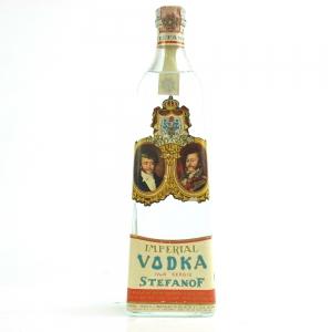 Stefanof Imperial Vodka 1970s