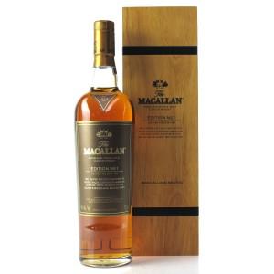 Macallan Edition No.1 / Wooden Box