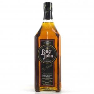 Long John 12 Year Old Blend 1980s 1 Litre