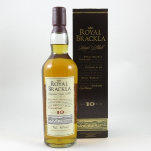 Royal Brackla 10 Year Old front