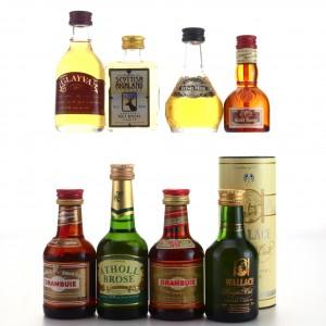 Liqueur Miniatures x 8