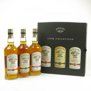 Bowmore Islay Collection Dusk, Dawn and Darkest 3 x 20cl