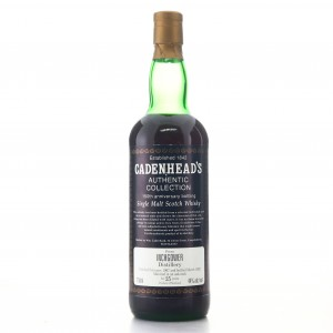 Inchgower 1967 Cadenhead's 25 Year Old / 150th Anniversary