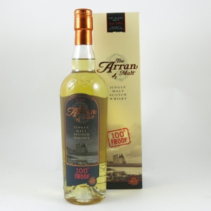 Arran 100 Proof Front