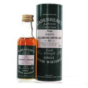 Daly's Tullamore 1949 Cadenhead's 41 Year Old Miniature 5cl