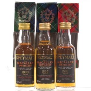 Macallan Speymalt Selection 3 x 5cl