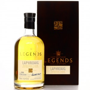 Laphroaig 1990 Hart Brothers 28 Year Old Legends Collection