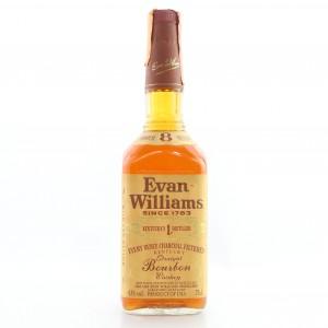 Evan Williams 8 Year Old Kentucky Straight Bourbon 1990s
