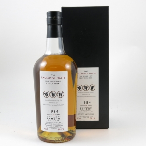 Tamdhu 1984 Exclusive Malts WWW.Com 24 Year Old front