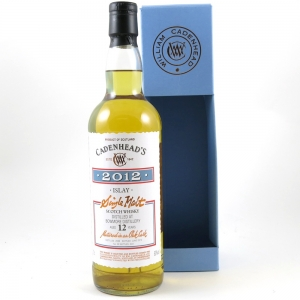 Bowmore 12 Year Old Cadenhead's 2012 front