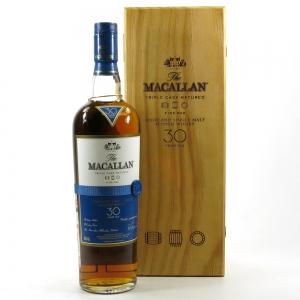 Macallan 30 Year Old Fine Oak / Wooden Box