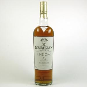 Macallan 25 Year Old Fine Oak