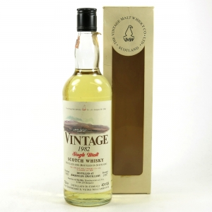 Aberfeldy 1982 Vintage Malt Whisky Co 15 Year Old