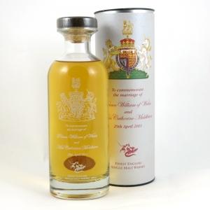 English Whisky Co Royal Wedding front
