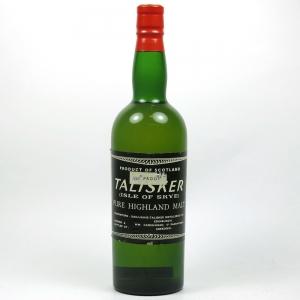 Talisker 100 Proof Cadenhead's 1960s Front