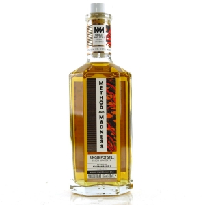 Method and Madness Single Pot Still Irish Whiskey Limited Edition / Virgin Hungarian Oak Finish