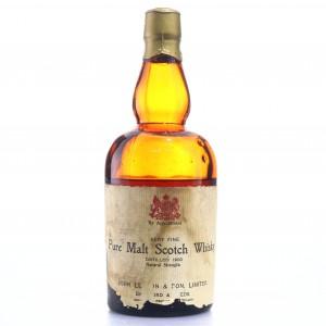 *Pure Malt Scotch Whisky 1990 John Lu..on and Son