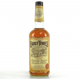 Early Times Old Style Kentucky Straight Bourbon 1980s