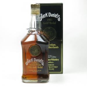 Jack Daniel's 1981 Gold Medal (US Import) 75cl