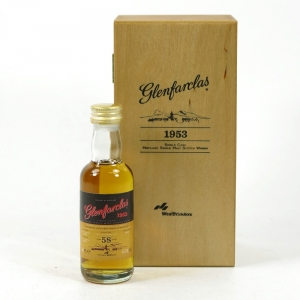 Glenfarclas 1953 58 Year Old / Wealth Solutions with DVD & Book