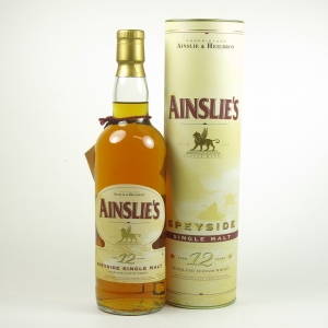 Ainslie's 12 Year Old Speyside Single Malt