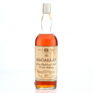Macallan 1959 Campbell, Hope and King 80 Proof / Rinaldi Import