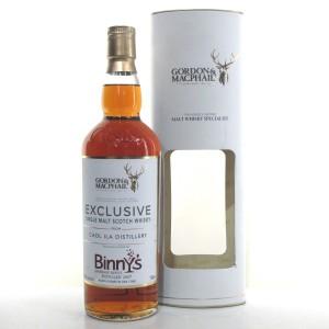 Caol Ila 2007 Gordon and MacPhail 10 Year Old 75cl / Binny's Beverage Depot