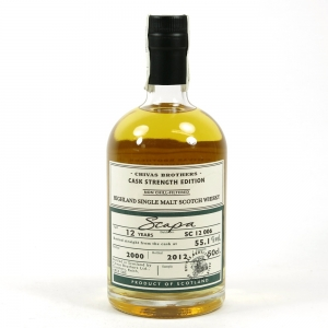 Scapa 2000 Cask Strength 12 Year Old Batch #006