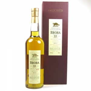Brora 35 Year Old 2013 Release Front