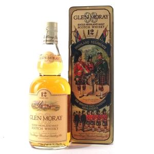 Glen Moray 12 Year Old 1980s / Queen's Own Cameron Highlanders