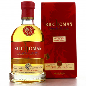 Kilchoman 2008 Single Bourbon Cask #461 / Islay Pipe Band