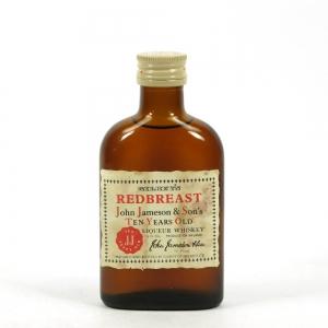 Redbreast 10 Year Old 1960s 5 Fl Ozs