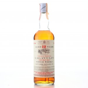 Lagavulin 12 Year Old White Horse early 1980s / Carpano Import